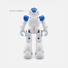 JJR/C JJRC R2 USB Charging Dancing Gesture Control RC Robot Toys for Children Kids Birthday Gift FJ88(China)