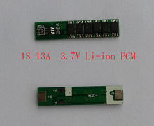 2PCS/ a lot 1S 13A 4.2V lipo lithium Polymer BMS/PCM/PCB battery protection circuit board for 1 Packs 18650 Li-ion Battery Cell