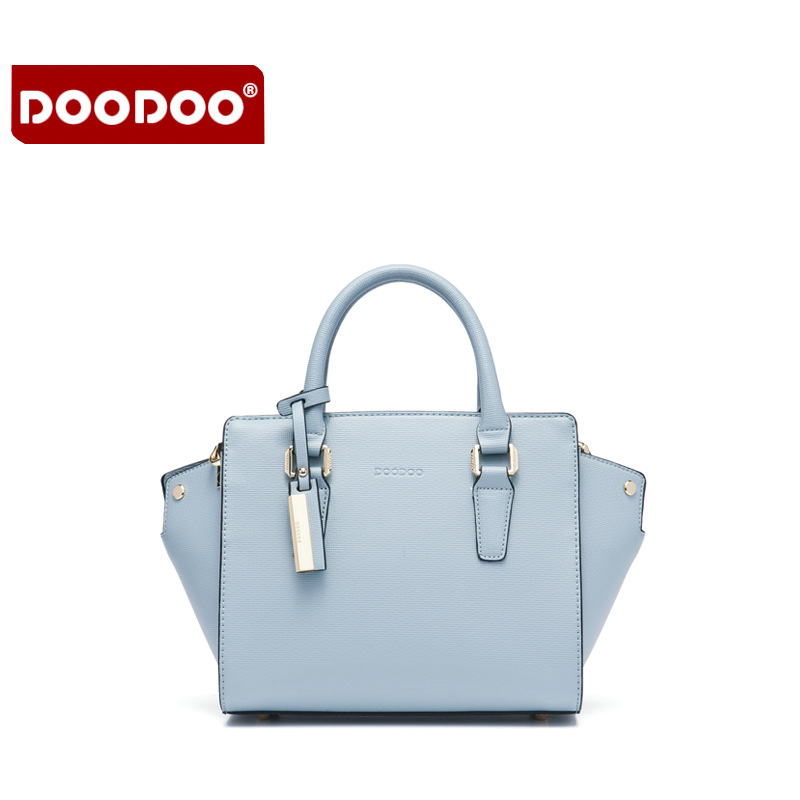 DOODOO Genuine Leather Handbags Luxury For Women Fashion Womens Handbags Crossbody Famous Brands Designer Handbags High  T626<br>