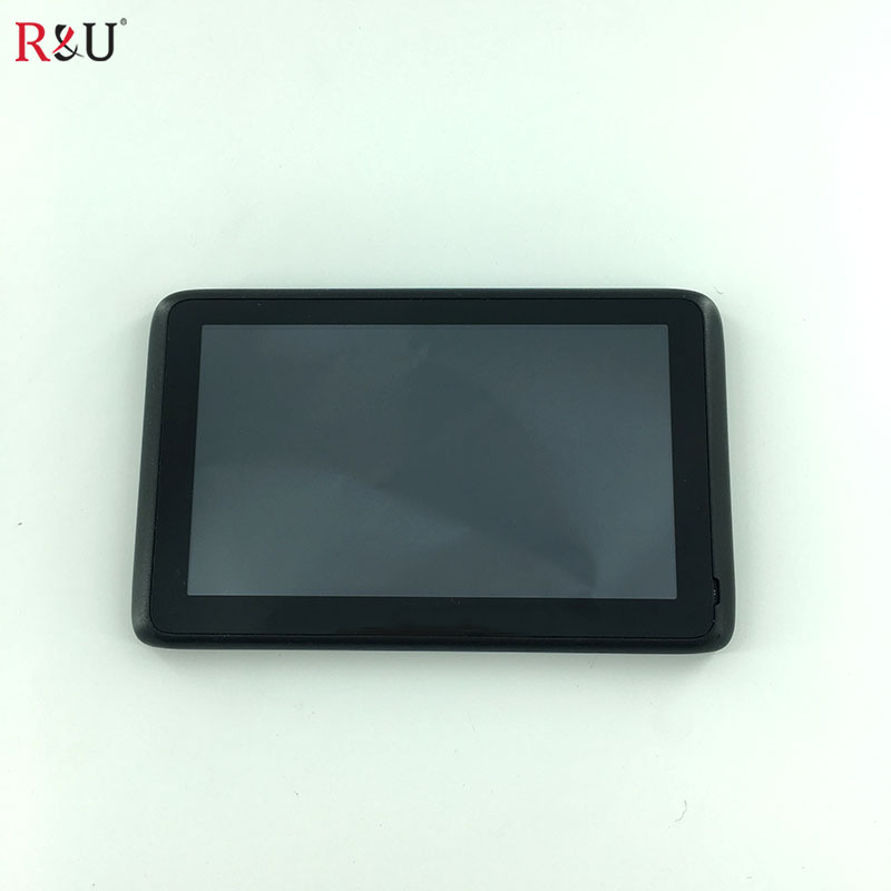 R&amp;U 5 inch lcd display screen + touch screen panel with frame digitizer For Tomtom GO 50S1 TCP50S1 V0.4 LMS500HF04_REV0.1 GPS<br>