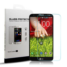 Yipin Screen Protector Tempered Glass for LG G2 9H 0.33mm 2.5D Explosion Proof  HD Vision Anti Fingerprints Protective Film