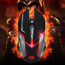 Professional USB Wired Gaming Mouse 6 Button Optical LED Lights Mouse Gamer 3200 DPI For PC Laptop Desktop Computer Game