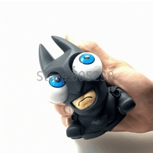 1Piece  Relaxing &Funny Mad Dark Knight Superhero Batman Bulging Eyes Pop Out Eyes Stress Balls Squeezable Toy