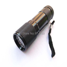 9 LED 365nm UV Mini Flashlight (3xAAA)
