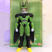 Huge Size 48 cm Dragon ball Super Saiyan Cell PVC Action Figures Japan Anime model Toys Children Kids Gift Classic Collection(China)