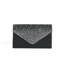 Women Satin Rhinestone Purse Ladies Evening Party Small Clutch Bag Eveningbag Bridal Purse Handbag Evening Bags Bolsas Feminina(China)