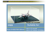 Trumpeter 100% original 09808 model display case display box 316mmx276mmx136mm suitable for scale  miniature military model