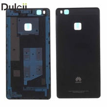 Dulcii for Huawei P9 Lite Back Battery Housing Covers OEM for Huawei P9 Lite Back Battery Housing Door Cover - Black(China)