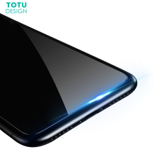 For iPhone X 10 Screen Protector Tempered Glass Film TOTU 9H 0.23MM Front Cover Toughened Protective Glass Film For iPhone X(China)