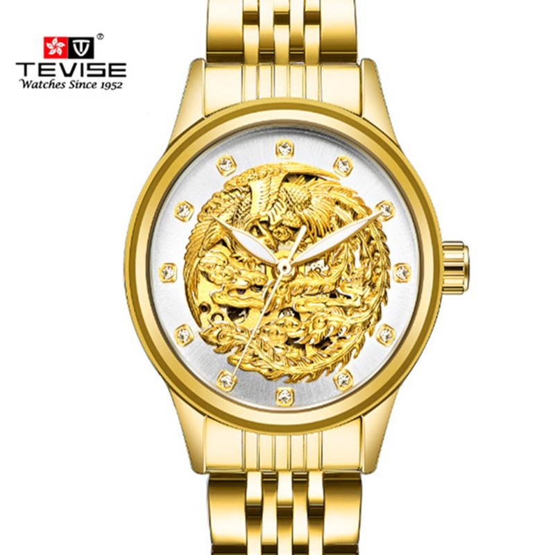 Fashion Women Watch TEVISE Luminous Automatic Mechanical Ladies Watches Automatic Self-Wind Diamond Female Dress Watch<br>