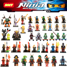 Ninja Kai Cyren Skylor Doubloon Nadakhan Clancee Bucko Pythor lepin ChenAciton Figures Building Blocks Toys gifts for children