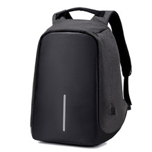 Advanced 2017 New Anti-theft Waterproof Laptop Backpack Men External USB Charge Notebook Backpack for Women 15.6'' Computer bag(China)