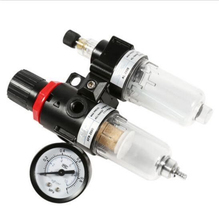 "Buy AFC2000 G1/4"" Air Filter Regulator Combination Lubricator ,FRL Two Union Treatment ,AFR2000 + AL2000"