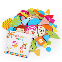 Multifunctional Educational Animals Alphabetic Letters Numbers Magnetic Puzzle Toys for Children Fridge Magnets