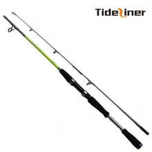 2016 carbon fiber 1.8m 2.1m 2.4m 2.7m fishing casting spinning rod baitcasting fishing rod china H power tackle tools(China)