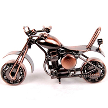 2 Colors  Stainless Steel  Motorcycle Metal Crafts For Home Office Decoration Child Toy Friend Gifts.
