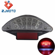 New Motorcycle LED Tail Light Rear Light Clear Lens Reflector For BMW F650 F800 R1200(China)
