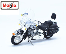 Maisto 1:18 Harley 2002 FLSTC Heritage Softail Classic MOTORCYCLE BIKE Model FREE SHIPPING