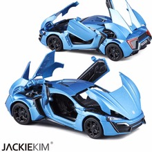 Hot 1:32 Lykan Alloy Car Model Diecasts Toy Vehicles Toy Alloy Car Metal Toy For Children Birthday Gifts Toys Free Shipping(China)
