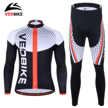 Buy VEOBIKE Gel Padded Breathable Bike Pants Bicycle Jerseys Anti-Sweat Cycling Clothing Sets MTB Road Bicycle Cycling Jersey Pants for $41.54 in AliExpress store