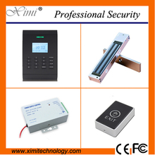 Free software linux system TCP/IP 30000 card capacity 125KHZ RFID smart card access control system(China)