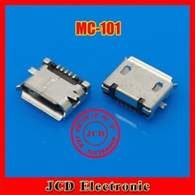 Micro USB socket MK Mike 5P MINI USB Micro USB female 5 foot patch SMD,MC-101