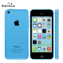 Apple iPhone 5C Original Unlocked IOS GPS WIFI Dure Core 4.0 Screen 8GB/16GB/32GB Storage iPhone5c Cellphone(China)