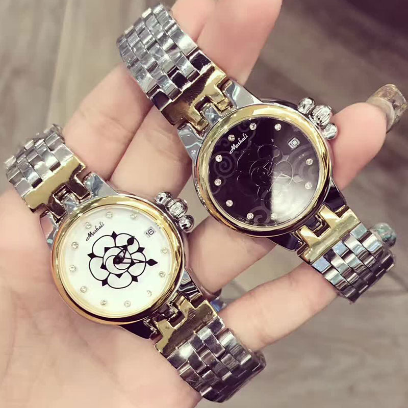 Womens Fashion Steel Wrist Watches Luxury Brand Females Geneva Quartz Clock Ladies Wristwatch Relojes Mujer 2017 orologi donna<br>