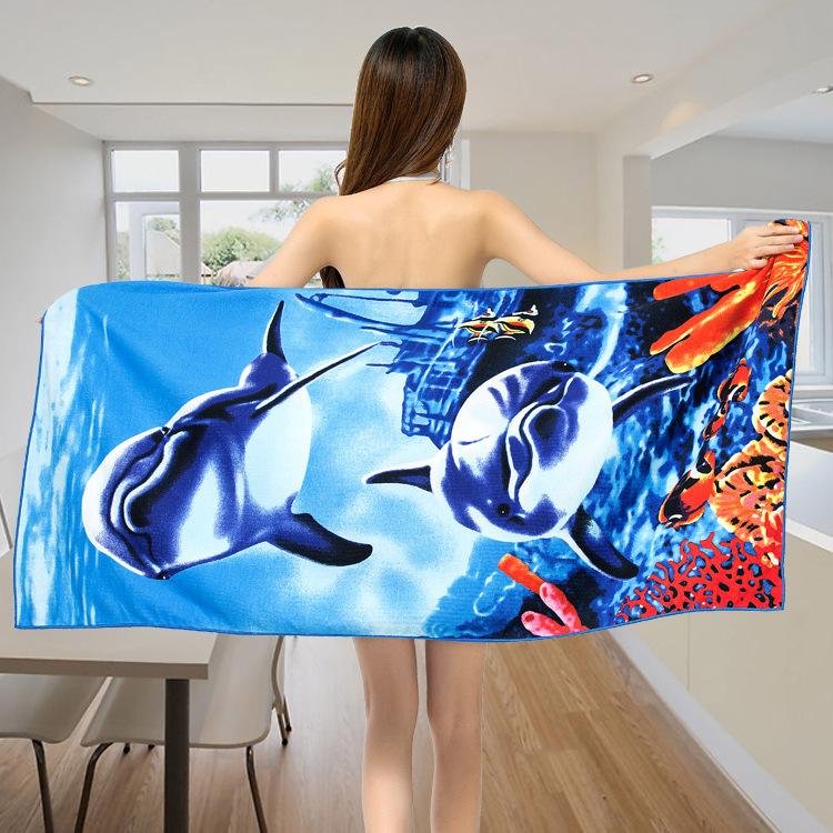 Micro Fiber Printed Beach Towel 140*70cm 51
