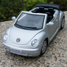 Hot sale 1pc 12cm volkswagen beetle cabriolet alloy car model free shipping(China)