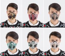 12 color Smog Mask PM2.5 Carbon Filter Cycling Face Mask Camouflage Air Cleaner Dust Pollution Face Protector Bicycle MTB Masks