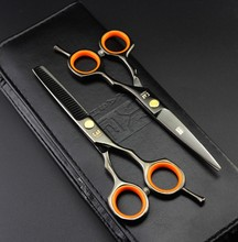 2 Scissors+Bag+Comb Japan High Quality Kasho 5.5/6.0 Inch Professional Hairdressing Scissors Hair Cutting Barber Shear Set Salon