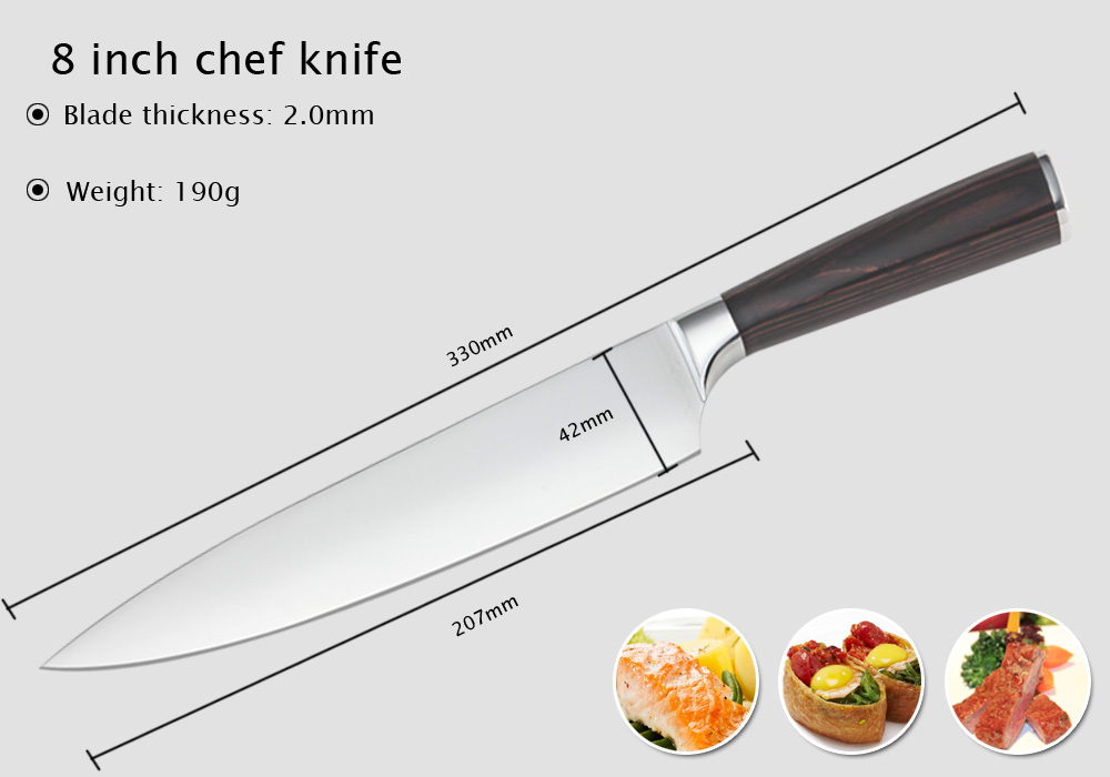 Chef knife sketch