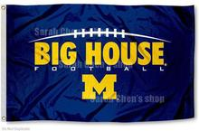 University of Michigan Wolverines Flag UM Big House Large 3x5
