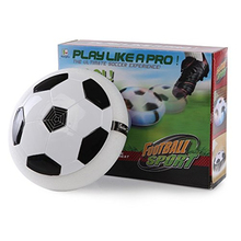Air Hover Ball Hockey Soccer 2-in-1 Floating Kid Toys Colorful LED Lights for Indoor & Outdoor Games Air Power Football Children(China)