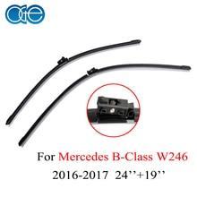 Oge 24''+19'' Wiper Blade Mercedes B Class W246 2016 2017 Windscreen Windshield Rubber Car Auto Accessories