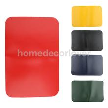 Inflatable Kayak Boat Dinghy Rib Canoe Waterproof PVC Repair Patch Kit 20 x 13cm - Red/ Yellow/Army Green/ Blue/Black(China)