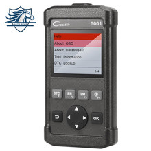 New Launch CReader CR5001 Code Reader Diagnostic Tool Full Functions OBD2 Scanner with O2 Sensor Test and On-board Monitor Test