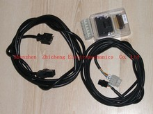 Ac + connector encoder connector + 5m power cable + 10 meters of sensor cable set for servo AC servomotor