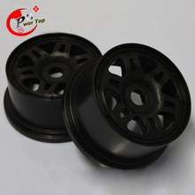 King Motor Baja T1000 Rear Pioneer wheel hub rim set for HPI BAJA 5T Parts Rovan Free Shipping(China)
