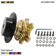 AUTOFAB - Car Steering Wheel Snap Off New Quick Release Hub Adapter Boss kit Universal For Honda Civic EK EM JDM 99-00 AF-CA0011(China)