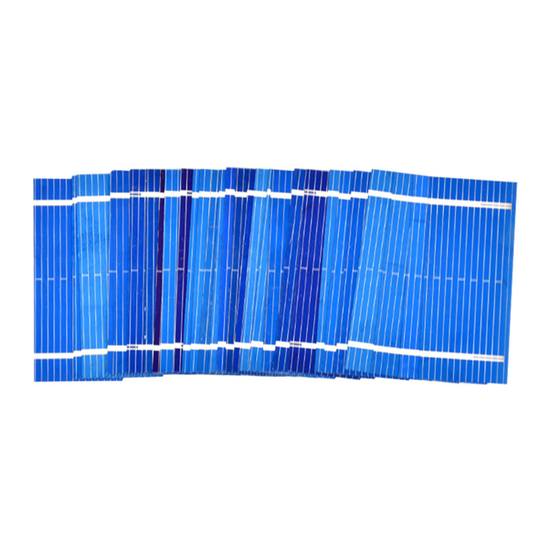 100Pcs Aoshike Solar Panel China Painel Solar Sunpower Polycrystalline DIY Solar Battery Charger 52*22mm 0.19W 0.5V 4