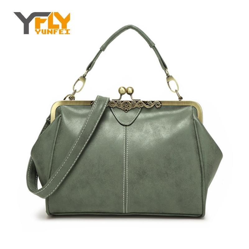 Y-FLY New Arrivals 2016 Brand Women Messenger Bags Retro Womens Handbag PU Nubuck Leather Bags High Quality Tote Bag Lady HC125<br><br>Aliexpress