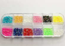 About 3000pcs/box,2mm Resin Rhinestone Mix Colors jelly AB rhinestones Nail art Deco Glitters Gems stones,11005