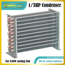 1/3HP fin & Tube heat exchanger is suitable for small household appliances or mobile coolers, without cover and fan & motor