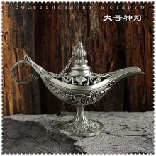Do the old European style of the ancient handicrafts carved tin pewter large Russian Aladdin lamp lamp(China)