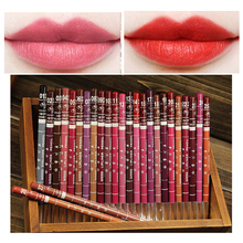 1pc Professional Colorful Soft Lips Liner Pencil Pen 12 Colors Waterproof Eye/Lip Liner Lipliner Makeup Cosmetics Lipstick Tools