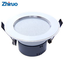 ZHINUO Led Downlights 3W LED Ceiling Downlight Lamps Led Ceiling Lamp Home Indoor Lighting Free shipping