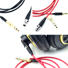 DIY Cord wire Cable For Pioneer HDJ2000 HDJ 2000 DJ Headset headphone 1.4M(China)