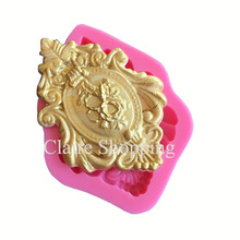 1 pc Retro flower silicone cake mold fondant mold cake decorating tools chocolate gumpaste mould CK-SM-067(China)